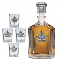 Maple Capitol Decanter Set
