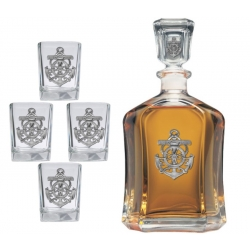 Anchor Capitol Decanter Set