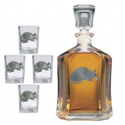 Armadillo Capitol Decanter Set