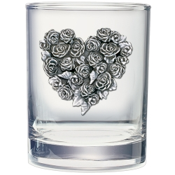 Rose Double Old Fashioned Glass