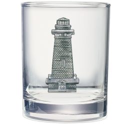 Lighthouse Double Old Fashioned Glass