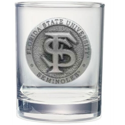 Florida State University Double Old Fashioned Glass