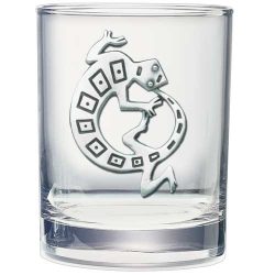 Lizard Double Old Fashioned Glass