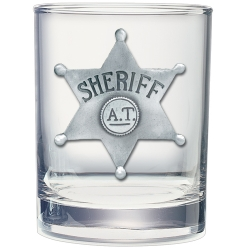 Sheriff Double Old Fashioned Glass