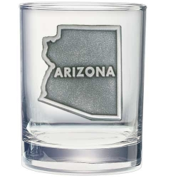 Arizona Double Old Fashioned Glass