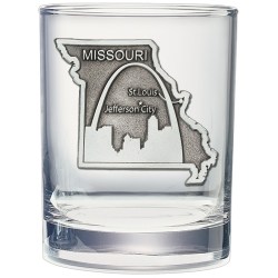 Missouri Double Old Fashioned Glass
