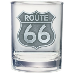 Route 66 Double Old Fashioned Glass