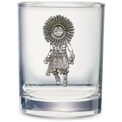 Sun Kachina Double Old Fashioned Glass