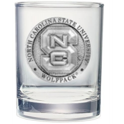 NC State University Double Old Fashioned Glass