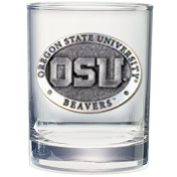 Oregon State University Double Old Fashioned Glass