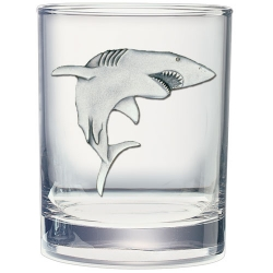 Shark Double Old Fashioned Glass