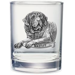 Mastiff Double Old Fashioned Glass