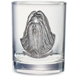 Shih-Tzu Double Old Fashioned Glass