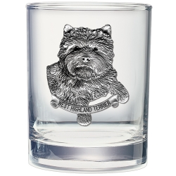 West Highland Terrier Double Old Fashioned Glass