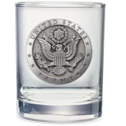 Army Double Old Fashioned Glass