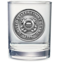 Coast Guard Double Old Fashioned Glass