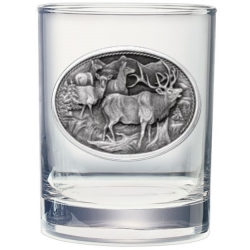 Elk Double Old Fashioned Glass