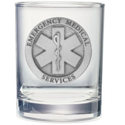 EMS Double Old Fashioned Glass