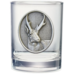 Antelope Double Old Fashioned Glass