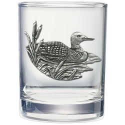 Loon Double Old Fashioned Glass
