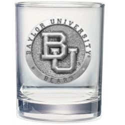 Baylor University Double Old Fashioned Glass