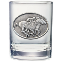 By A Nose Double Old Fashioned Glass