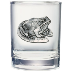 Frog Double Old Fashioned Glass