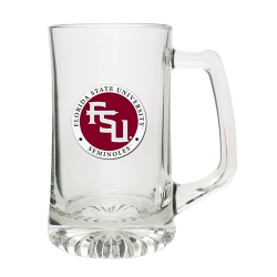 "Florida State University ""FSU"" Super Stein - Enameled"