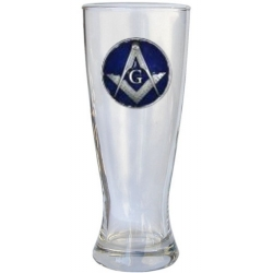Masonic Square & Compass Pilsner - Enameled