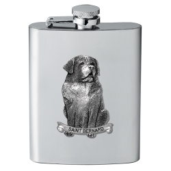 Saint Bernard Flask