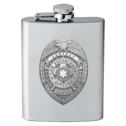 Law Enforcement Flask