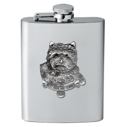 West Highland Terrier Flask