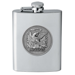 "Marine Corps ""Historic"" Flask"