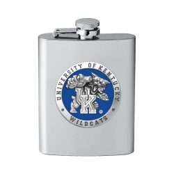 "University of Kentucky ""Wildcats"" Flask - Enameled"