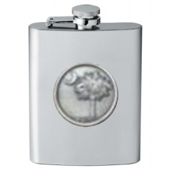 South Carolina Palmetto Flask
