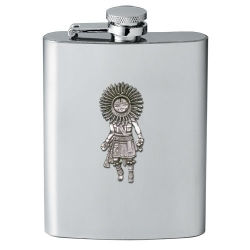 Sun Kachina Flask