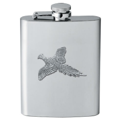"Pheasant ""Flight"" Flask"