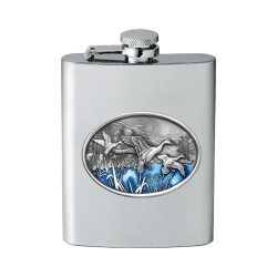 Pintail Duck Flask - Enameled