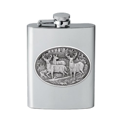 Whitetail Deer Flask