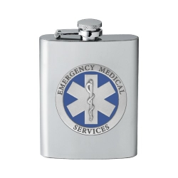 EMS Flask - Enameled