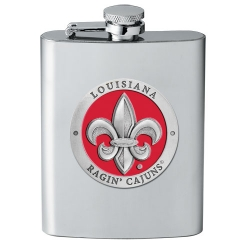 Louisiana at Lafayette Flask - Enameled