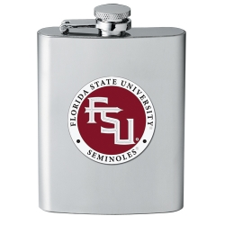 Florida State University Flask - Enameled