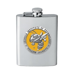 "Georgia Institute of Technology ""Yellow Jackets"" Flask - Enameled"