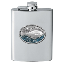Halibut Flask - Enameled