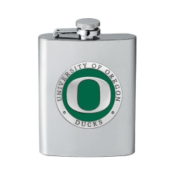University of Oregon Flask - Enameled