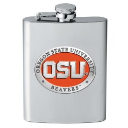 Oregon State University Flask - Enameled