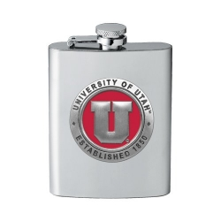 University of Utah Flask - Enameled