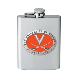 University of Virginia Flask - Enameled