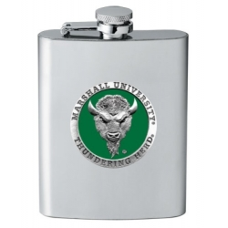 Marshall University Flask - Enameled
