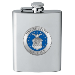 Air Force Flask - Enameled